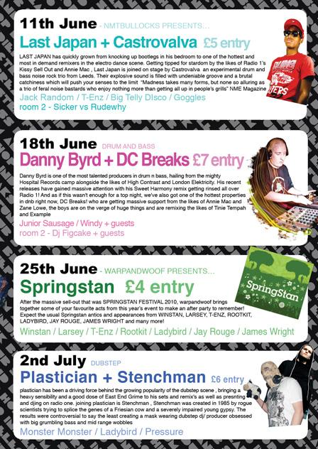 Friday June Flyer